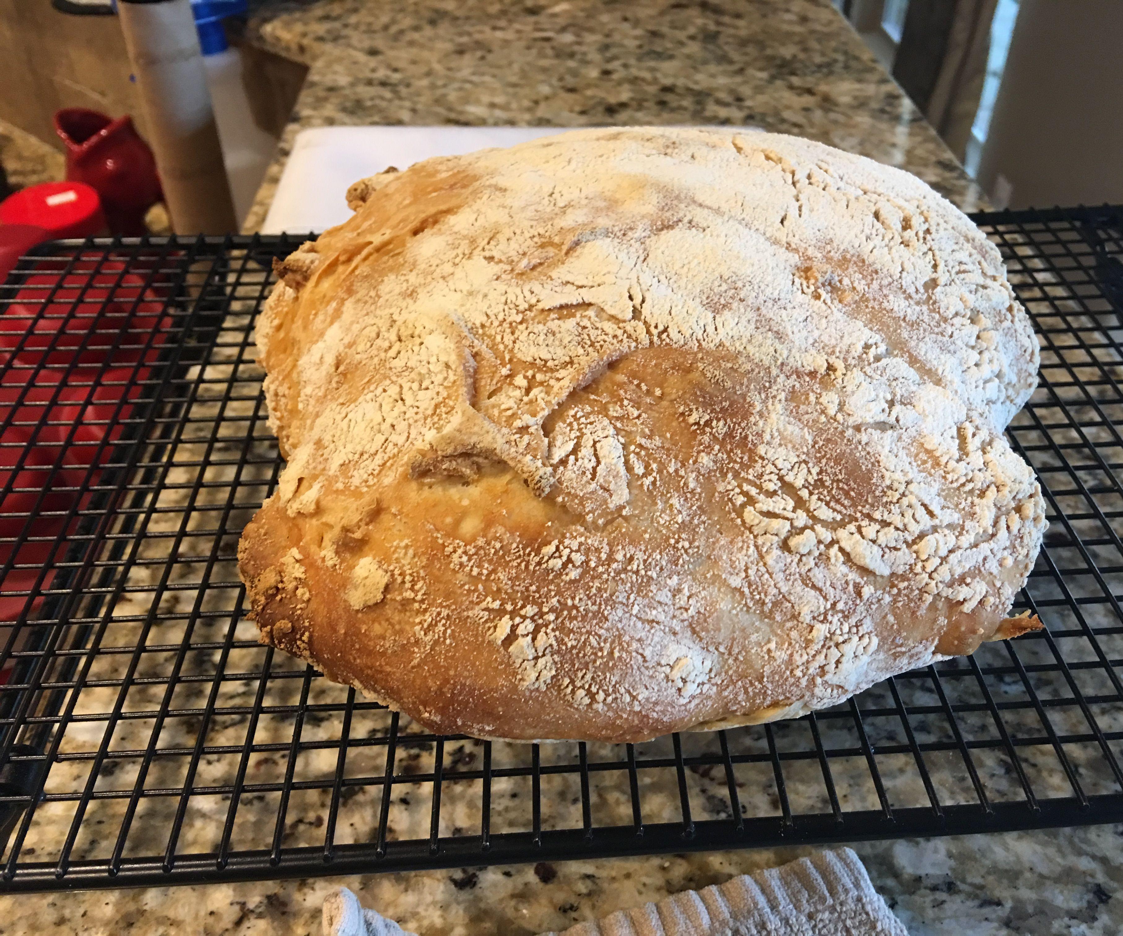 Easy No Kneed Bread