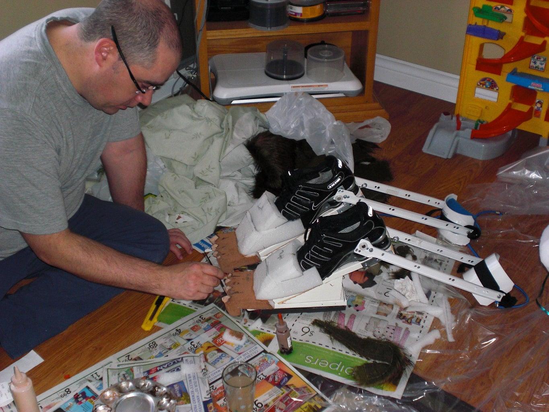 Building a Werewolf!!