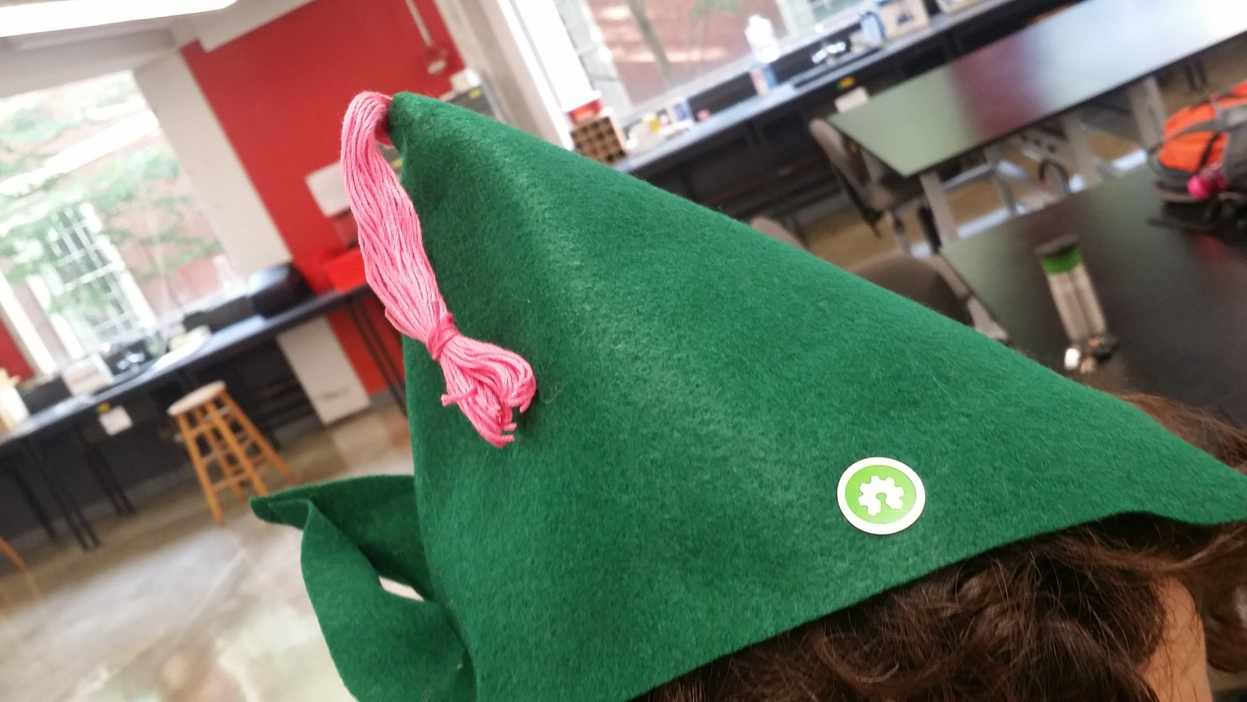 Open Source Green Cool Hat