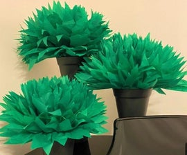 Easy! Inexpensive! Paper! Plant Decorations!