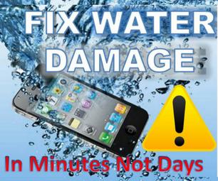 如何在几分钟内修复湿手机