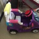 Toy Car Accelerator Modification