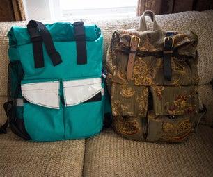 Rolltop Waterproof Backpack