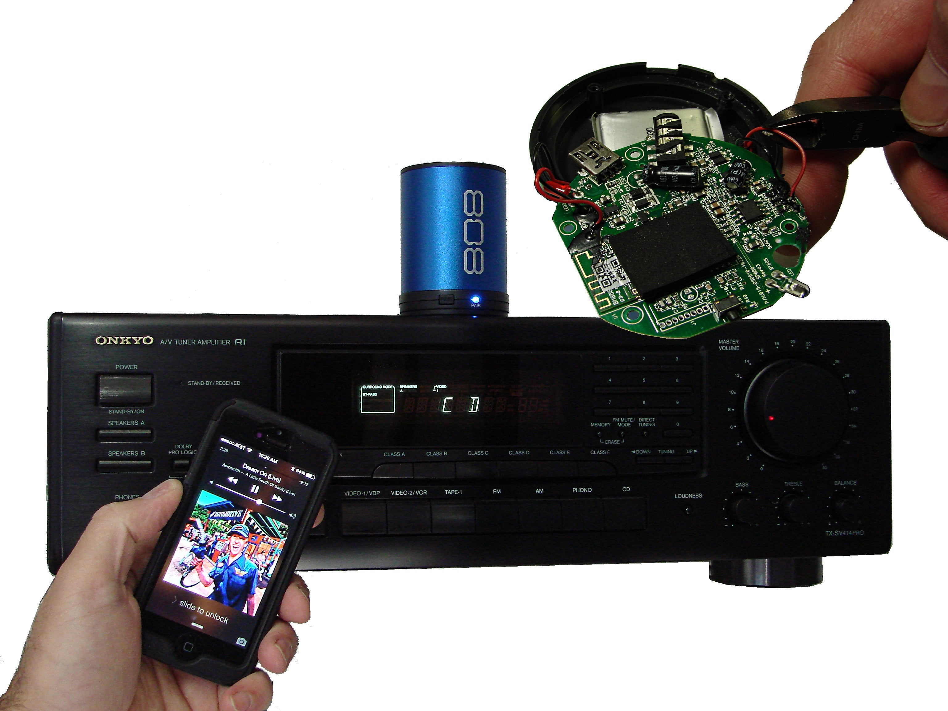 Bluetooth Speaker Hack - Home Theater Streaming : 10 Steps (with