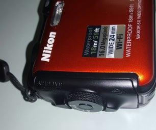 Nikon AW120 Battery Door Repair
