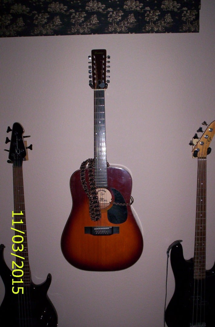 Paracord Acoustic Guitar Strap