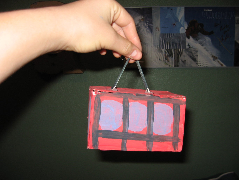 Miniature Moving Gondola