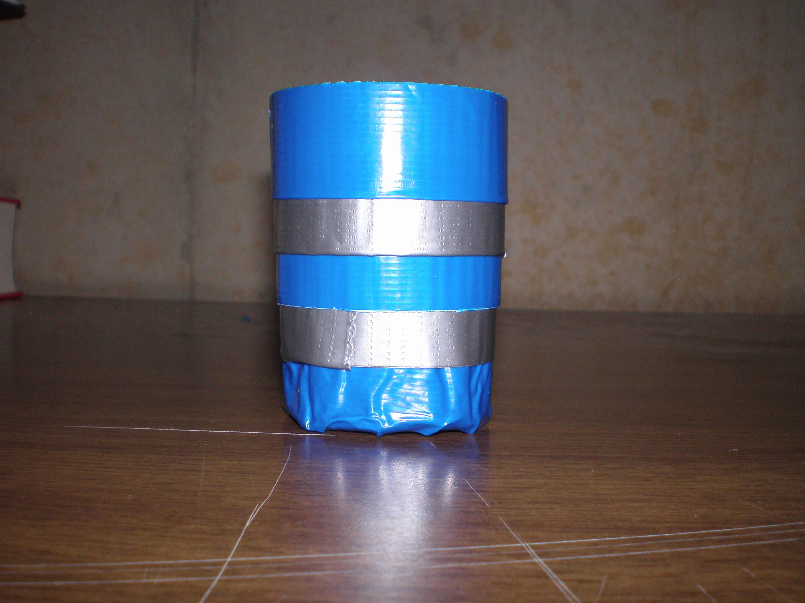 duct tape collapsible cup