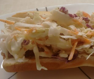 Carolina-style BBQ Hoagie, Super Simple and Mouth Watering