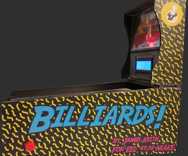 3D Printed Pinball Machine