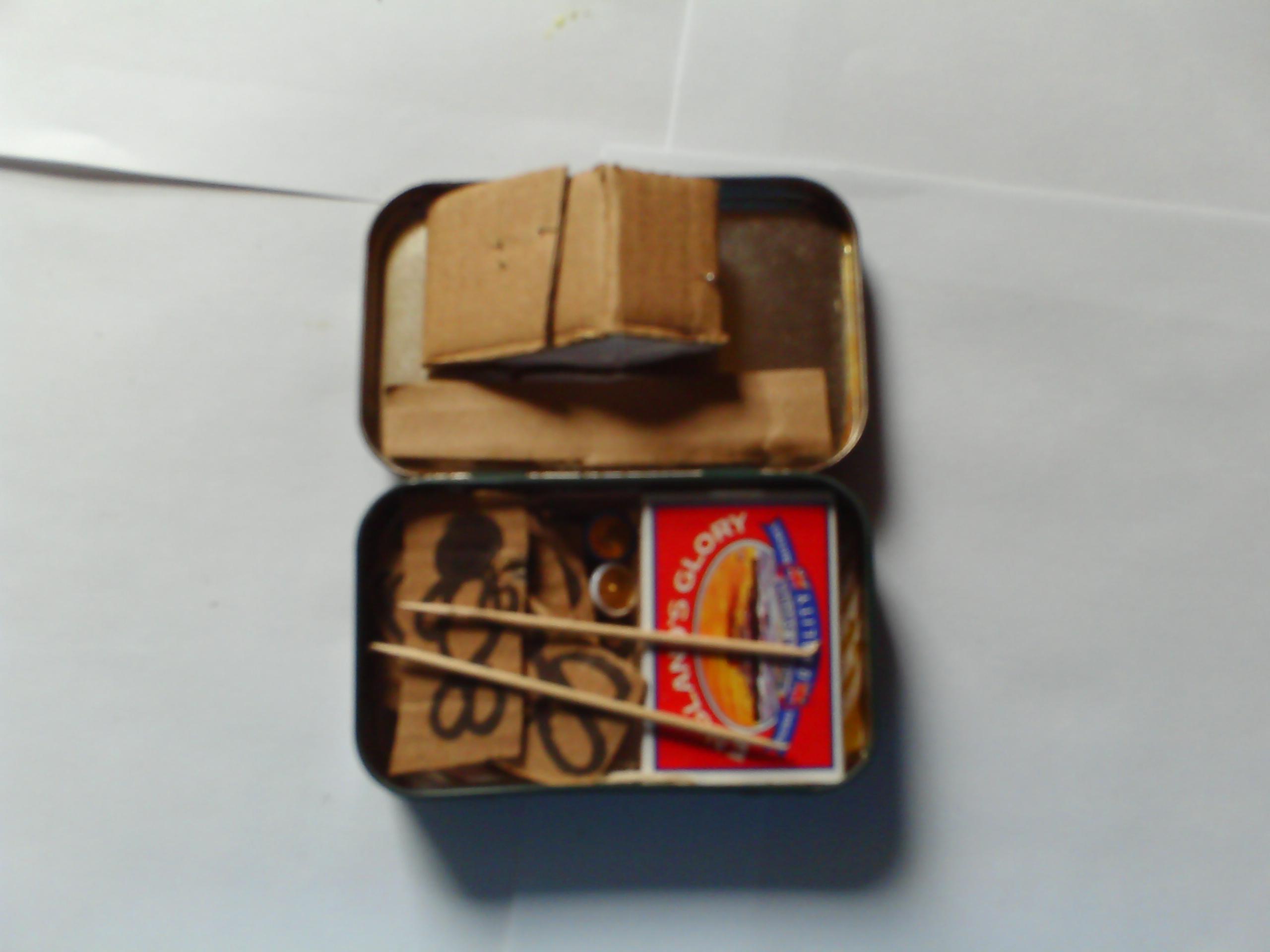 Pocket Sized Cardboard Voodoo Torture Kit