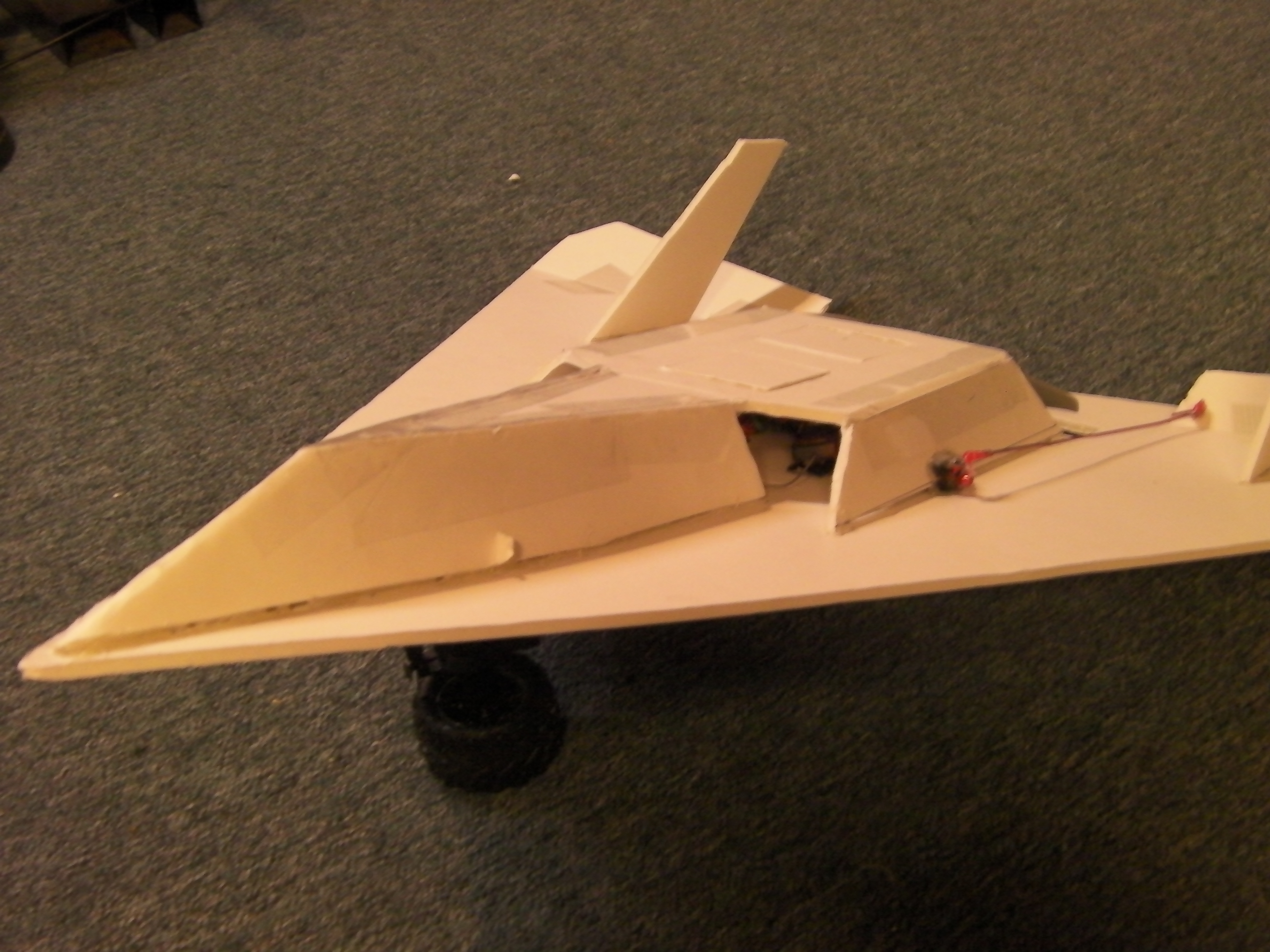 Scratch Built Delta Wing RC Plane