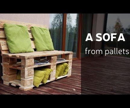 How to Make a Sofa From Pallets