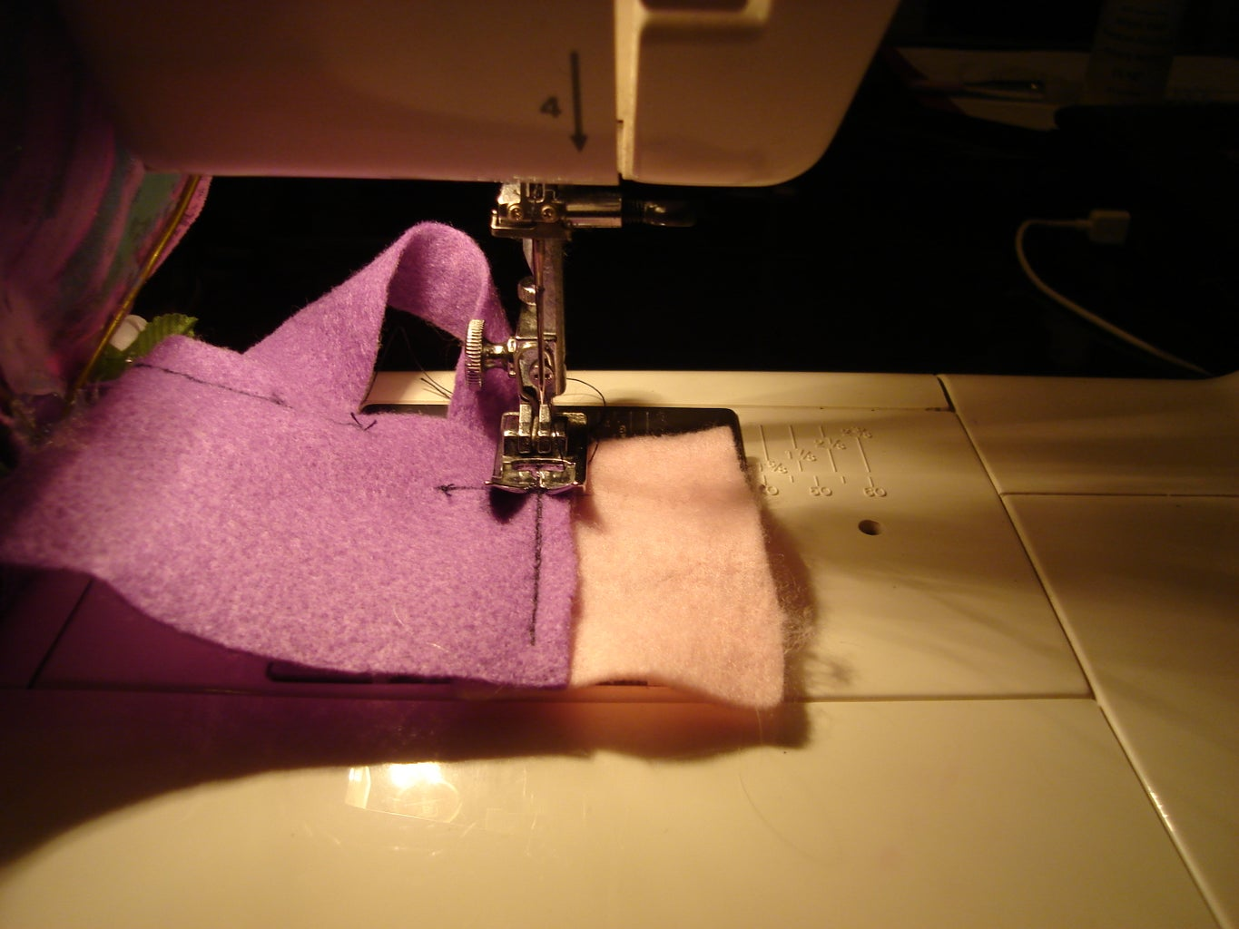 Sewing the Harness Straps