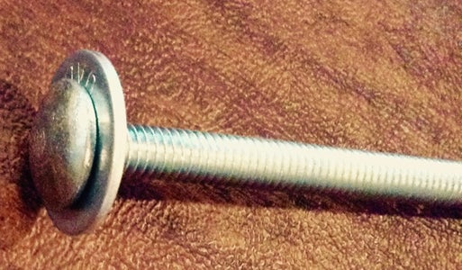 Assemble Carriage Bolt and Fat Washer and End-Cap / End-Base-Cap