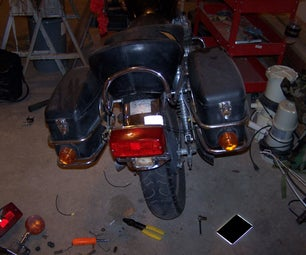 Replace the Tail Light on a 1980 Honda Cb 650