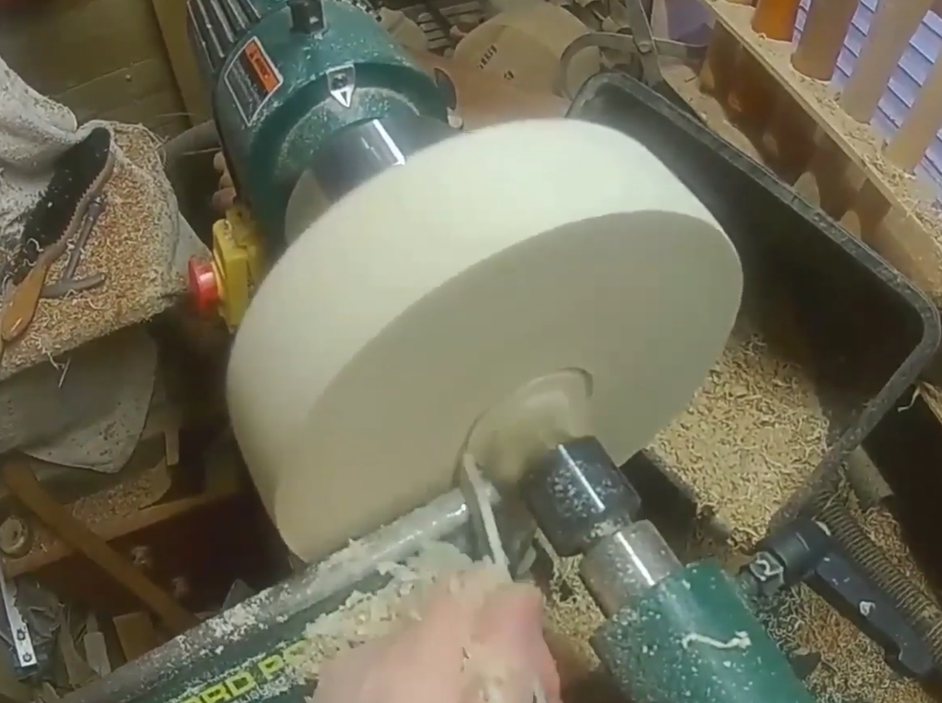 Cutting the Mortise
