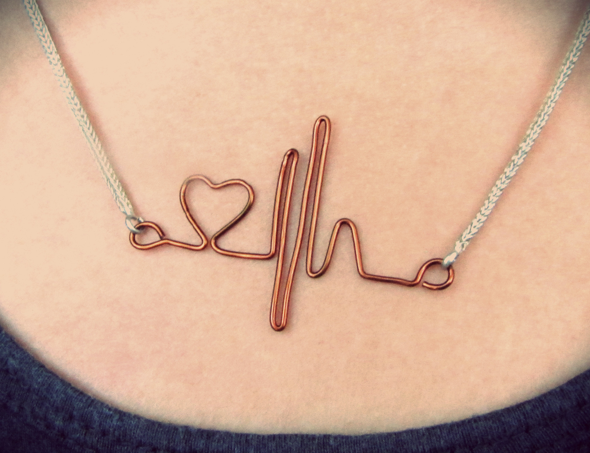 Heartbeat Necklace For Your Valentine