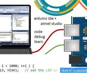 Setup Arduino IDE in Atmel Studio