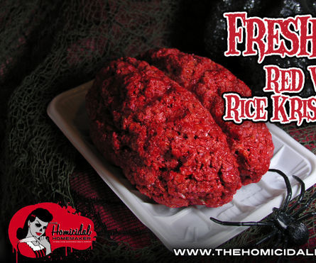 Fresh Meat (Red Velvet Rice Krispy Treats)