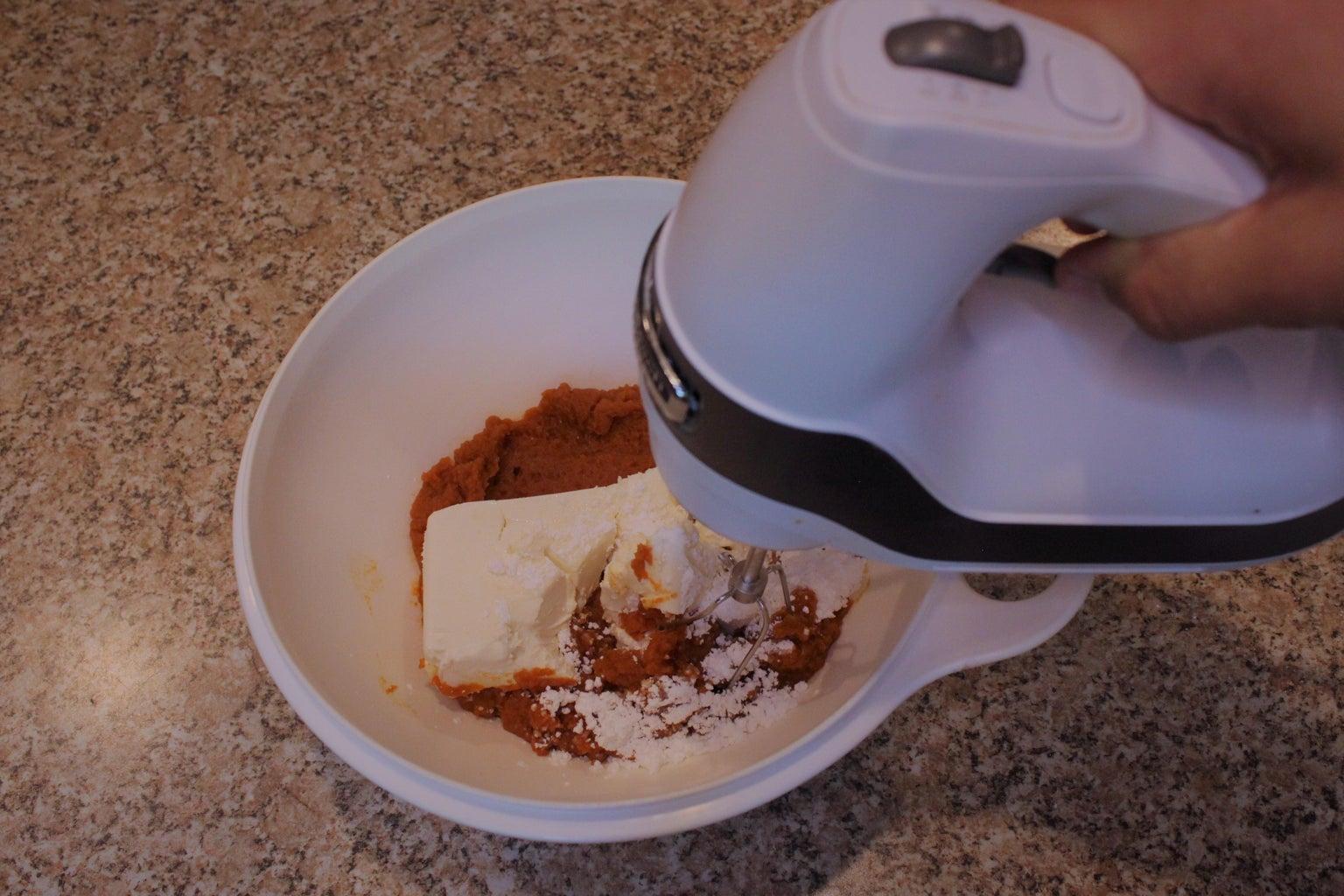 Making the Pumpkin Mixture