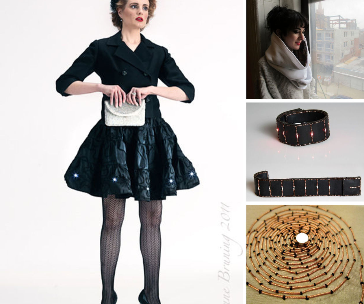 Wearable Electronic Intro Projects