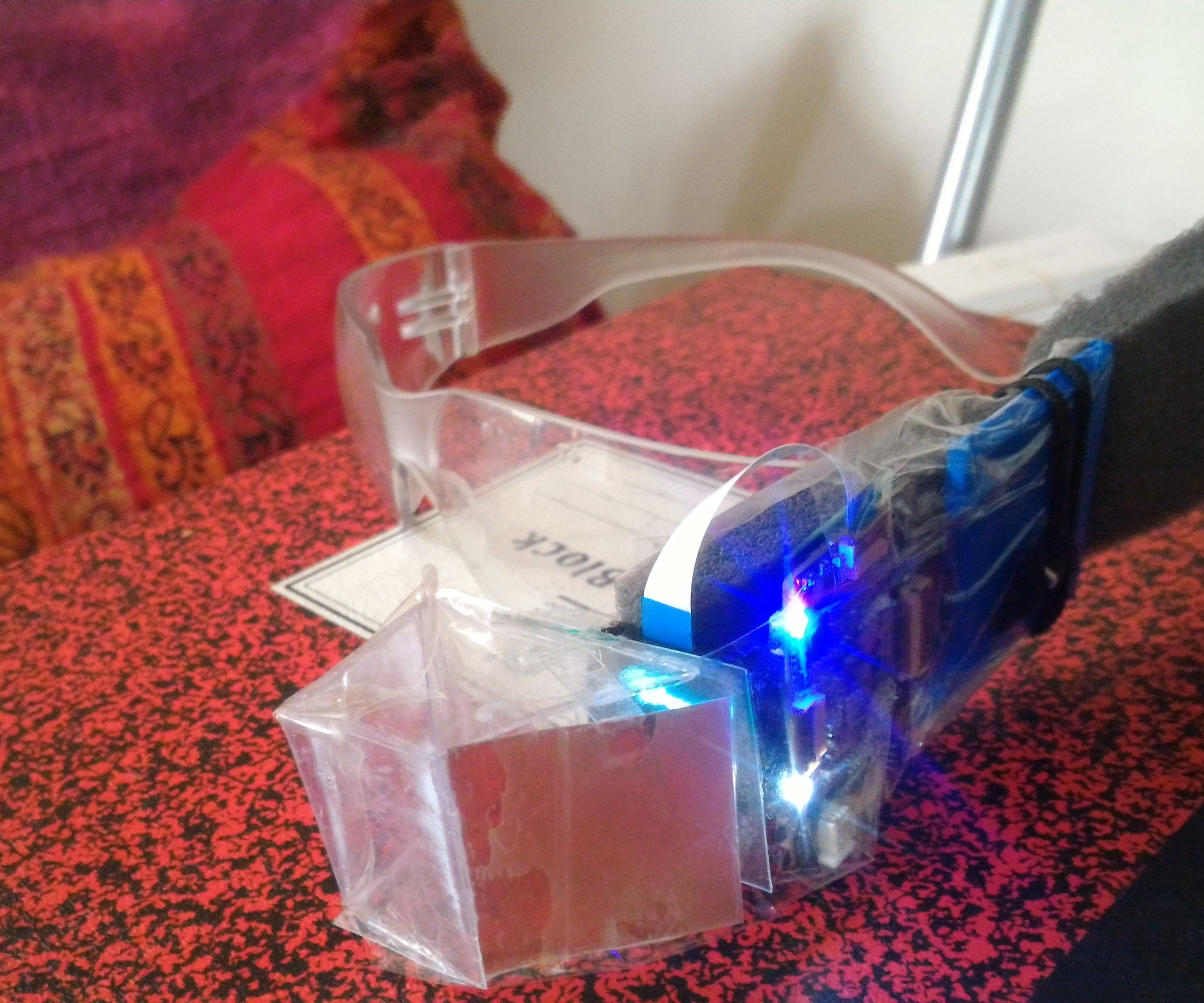 Intel Glass_Augmented reality headset
