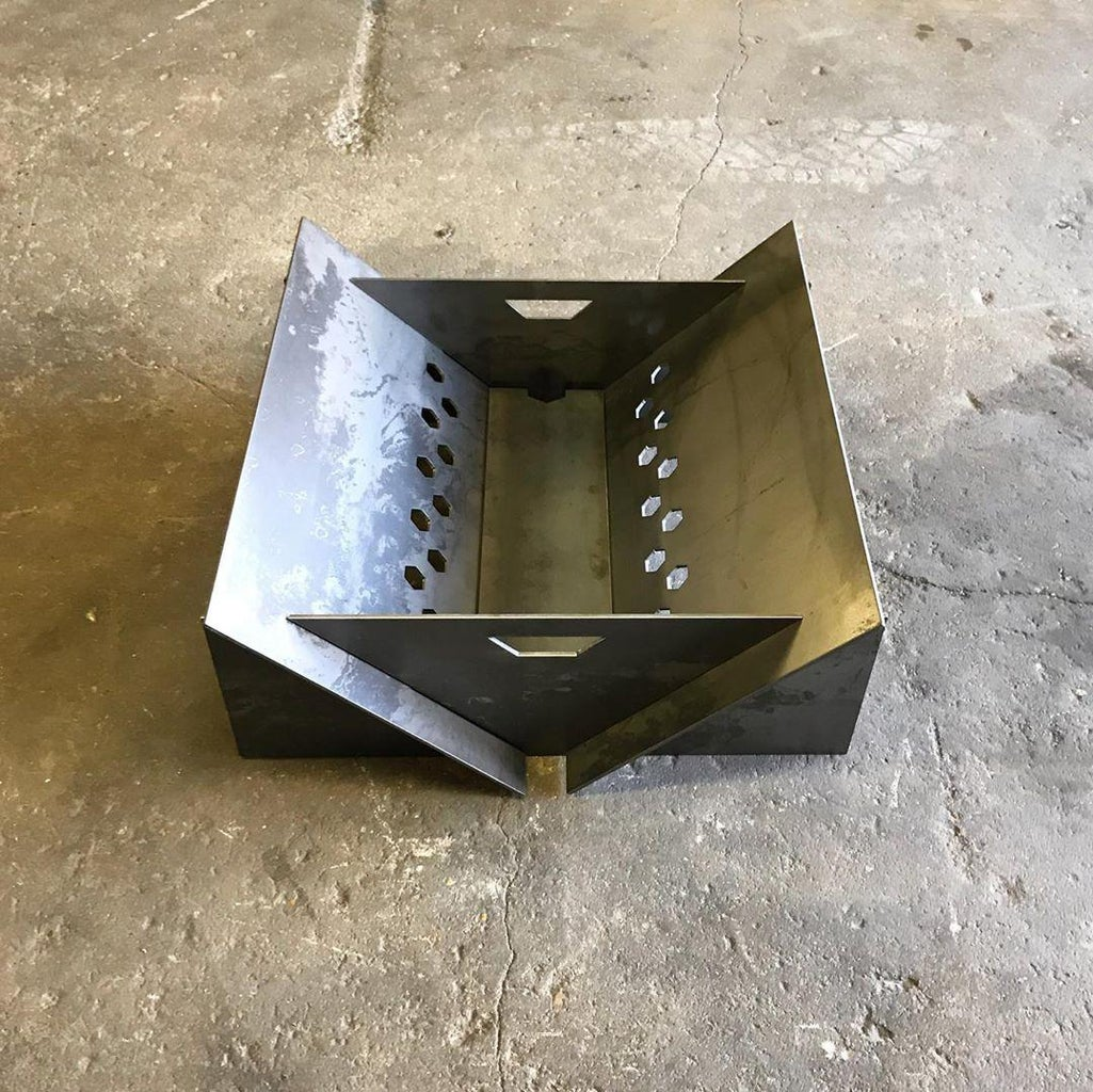 Portable Fire Pit - Final Assembly