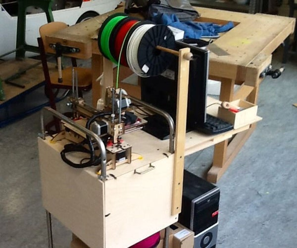 Printrbot 3d Printer Classroom Car