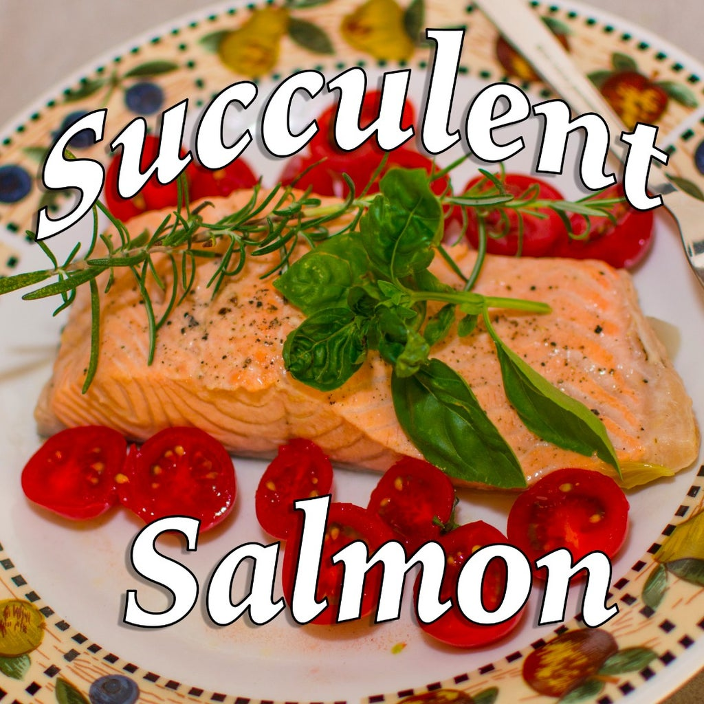 Succulent Poached Salmon