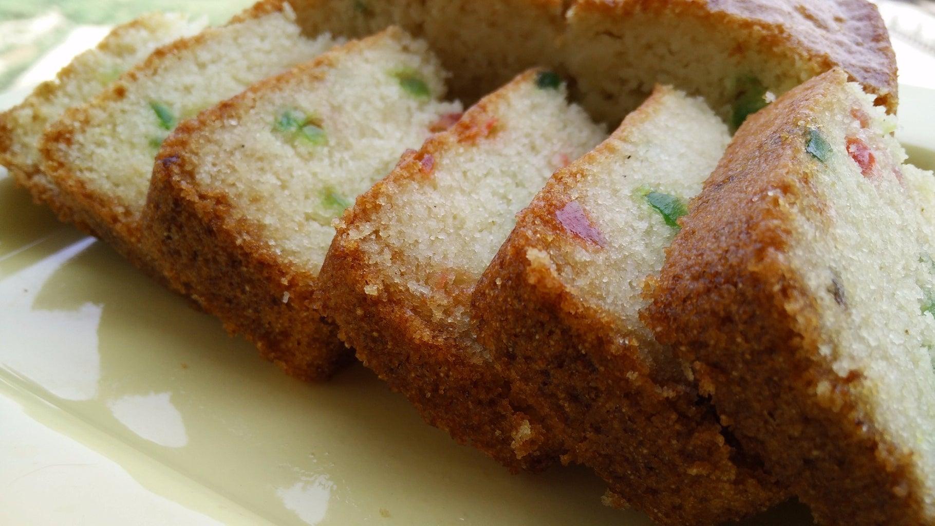 Eggless Semolina Cake in Airfryer