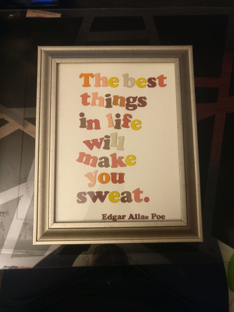 Paint Samples Up-cycled: Decorative Quotes