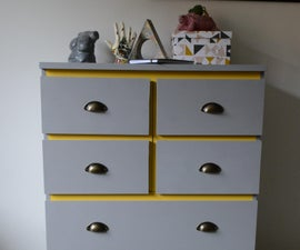 3D Printer Enclosure Using IKEA MALM Chest of Drawers