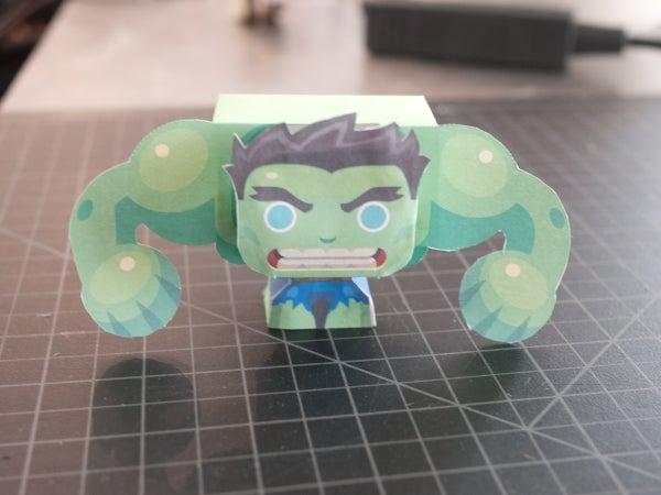 Hulk SMASH! Mini-Papercraft
