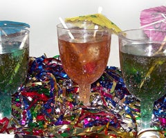 New Year's Recipe: Sparkling Dum Dums Drinks for Kids