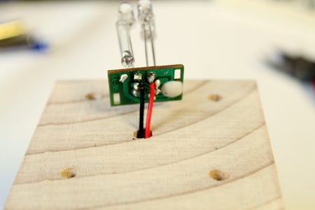 Soldering the Circuit to the Batteries