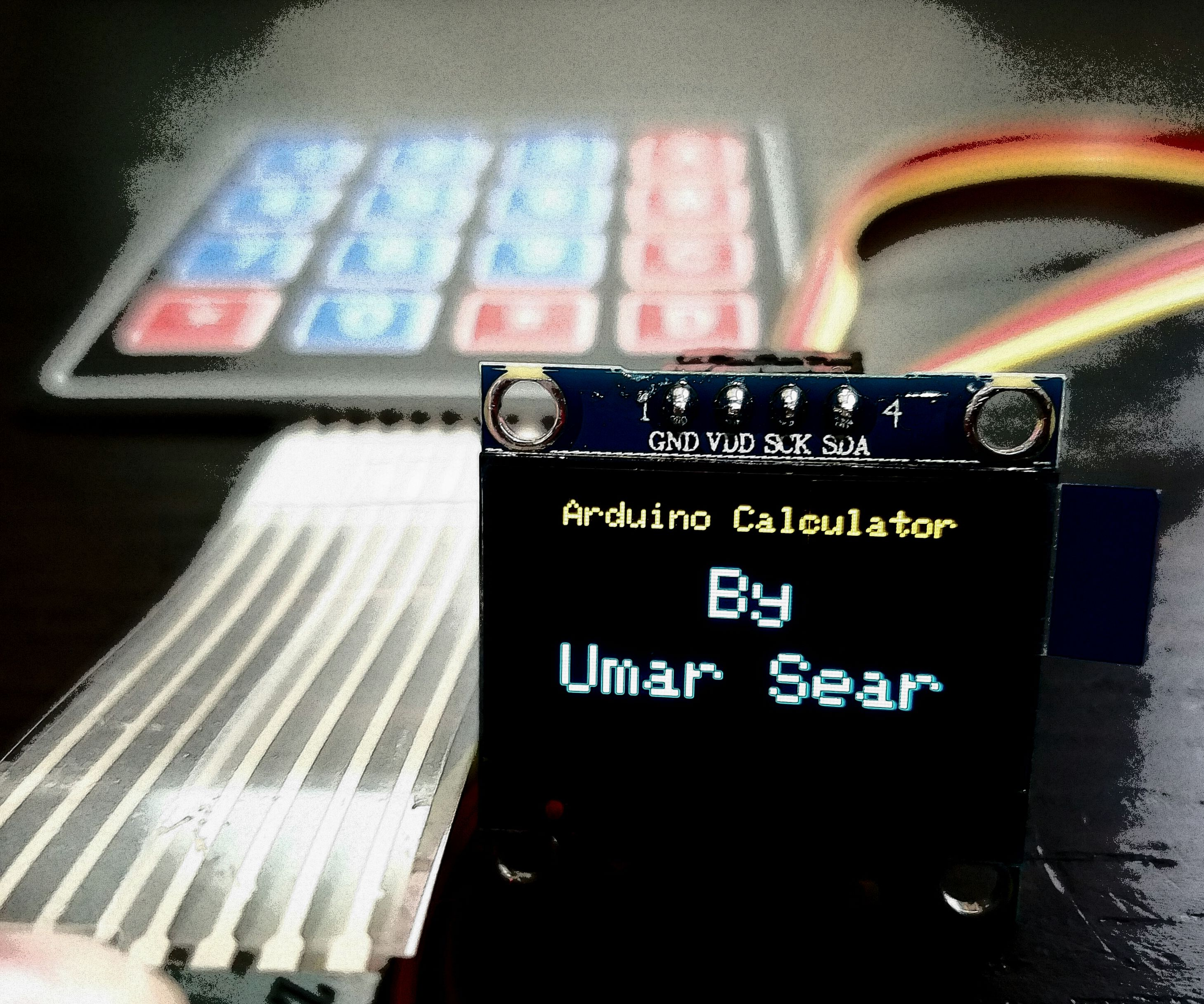 Arduino OLED Calculator