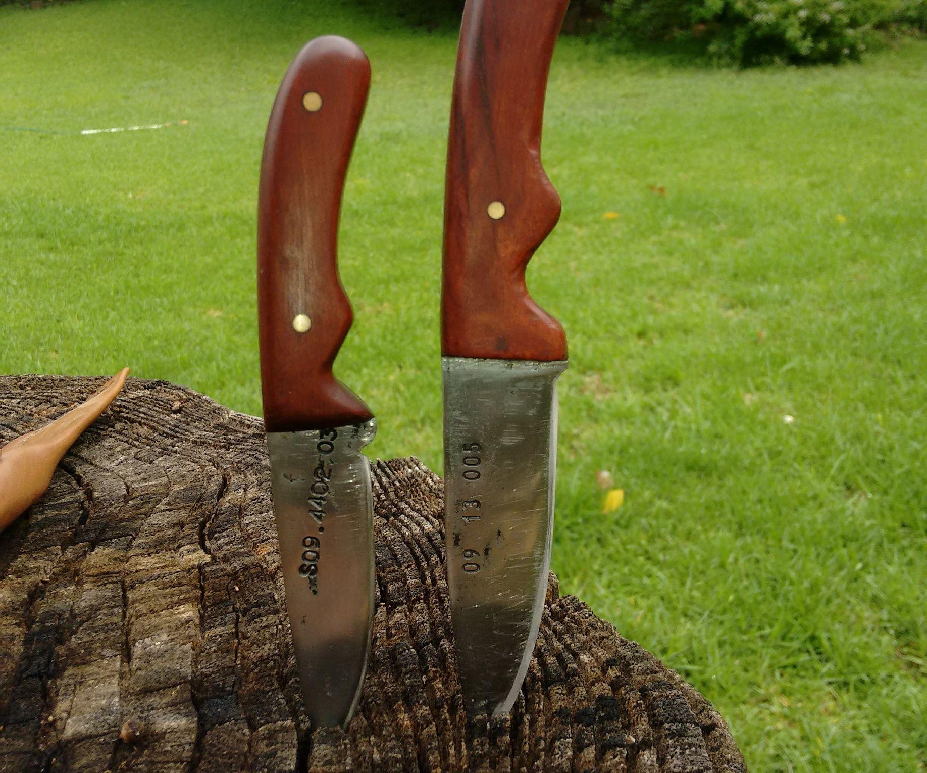 Lawn Mower Blade to Custom Knife