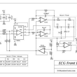 DIY ECG EKG Portable Heart Monitor