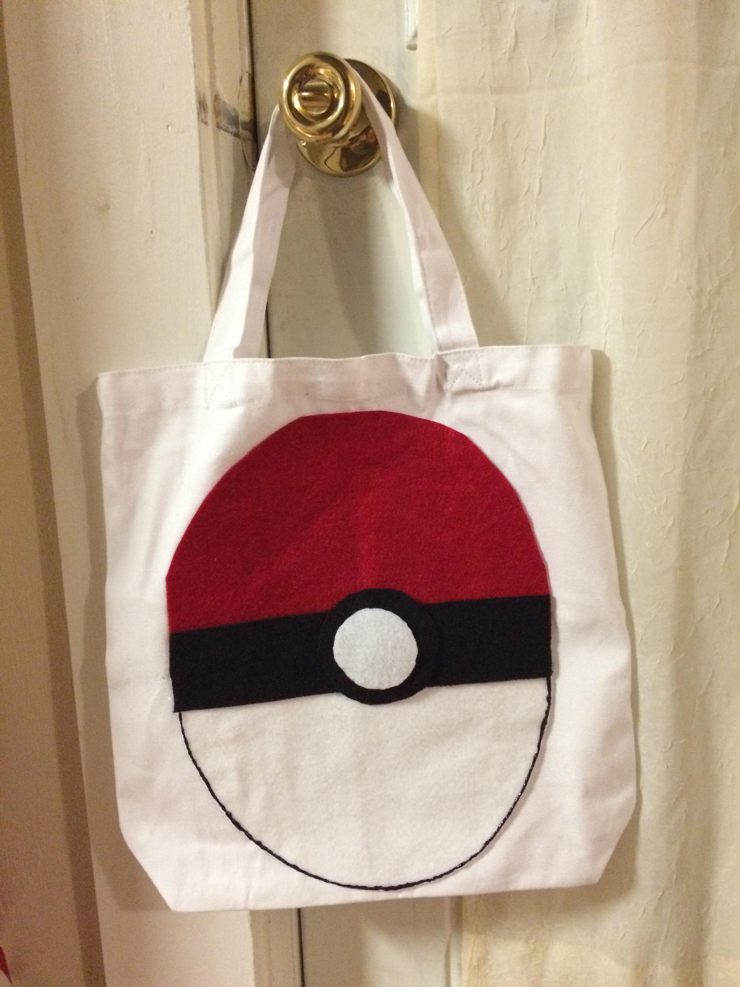 Poke Ball Treat Bag