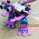 Cardboard Biped Robot