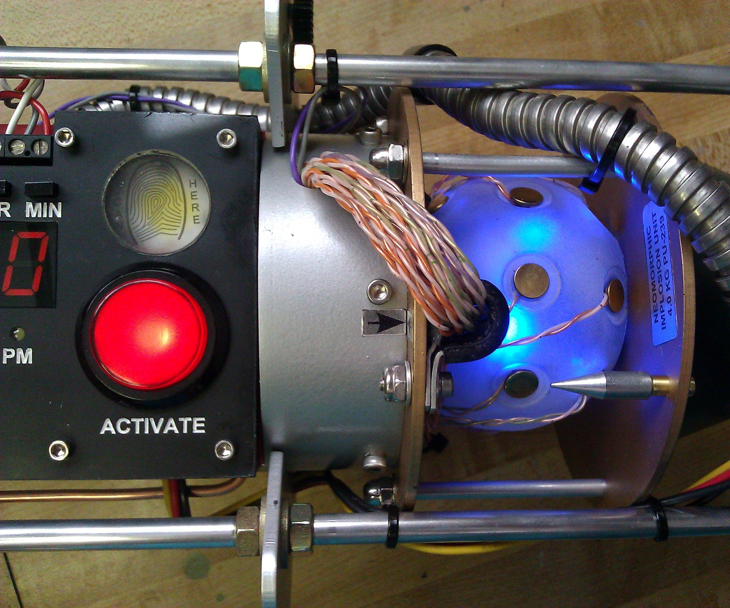 Antimatter Excavator/Alarm Clock/Movie Prop