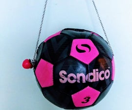 Soccer Ball Handbag