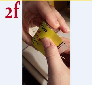 Applying the Sticker - Part B