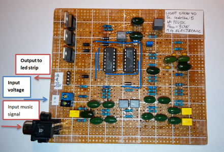 Specifications Circuit and Connection :