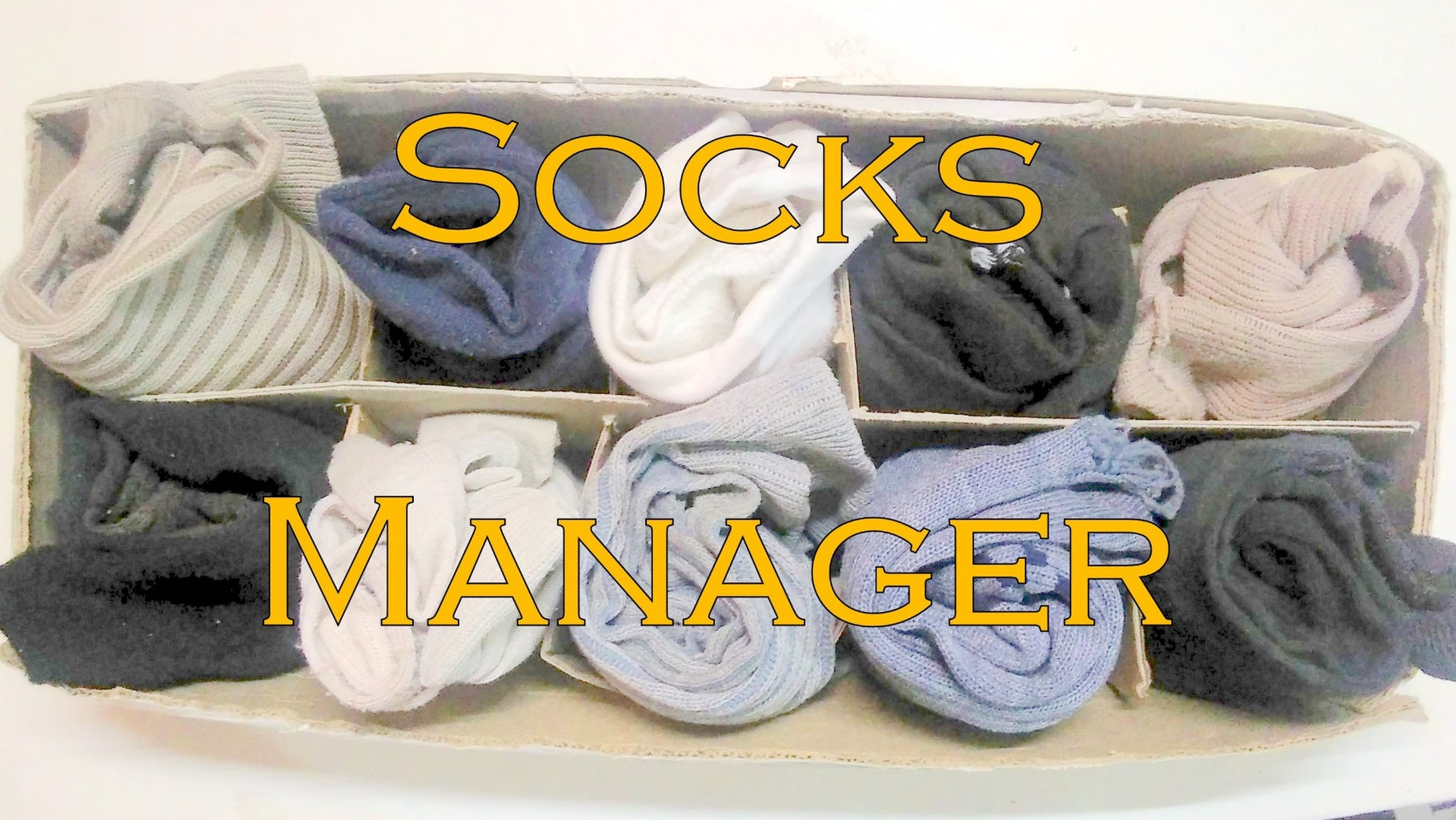 How to Manage Your Socks (Socks Manager)