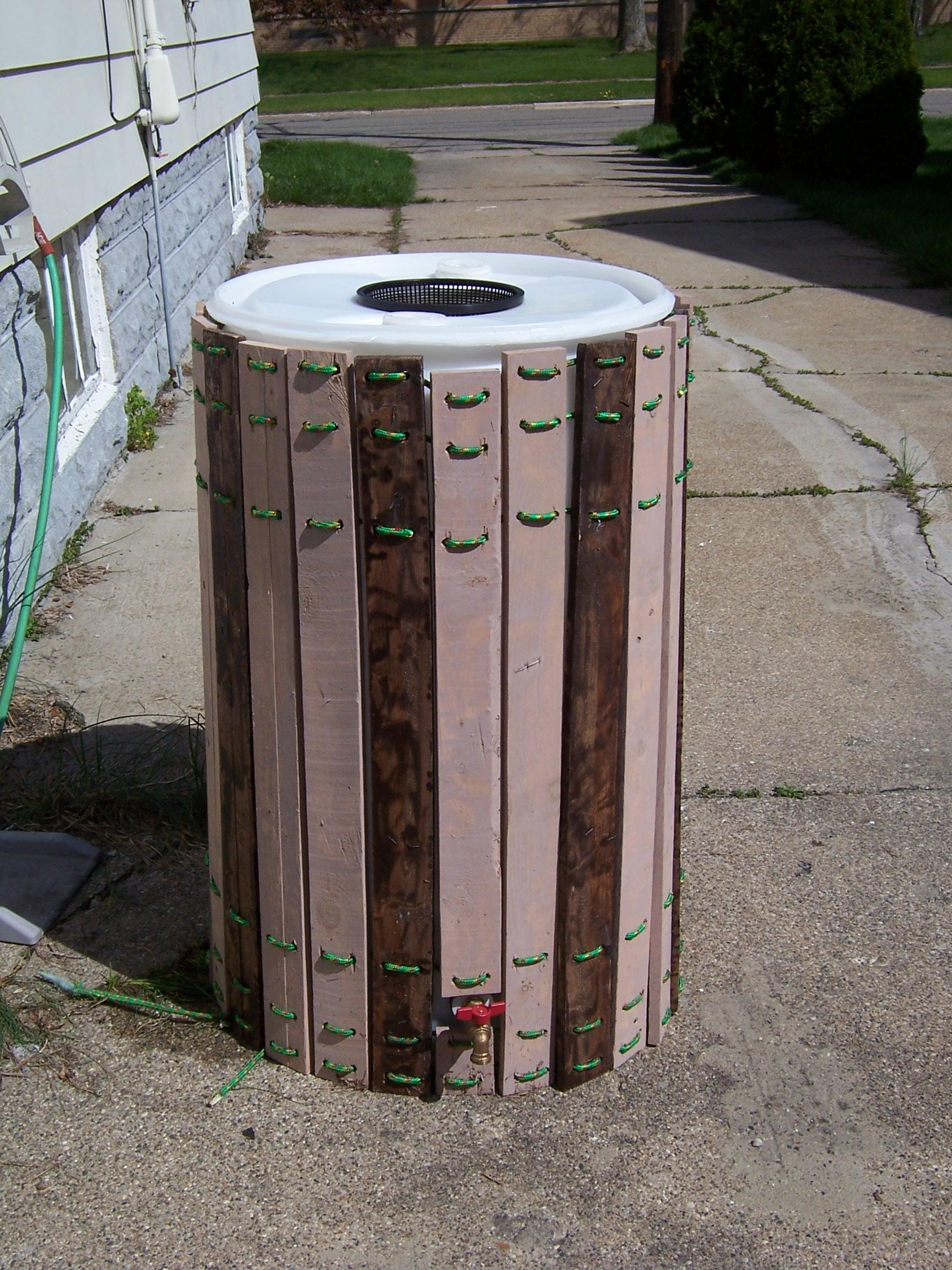 Rain Barrel Enhancement