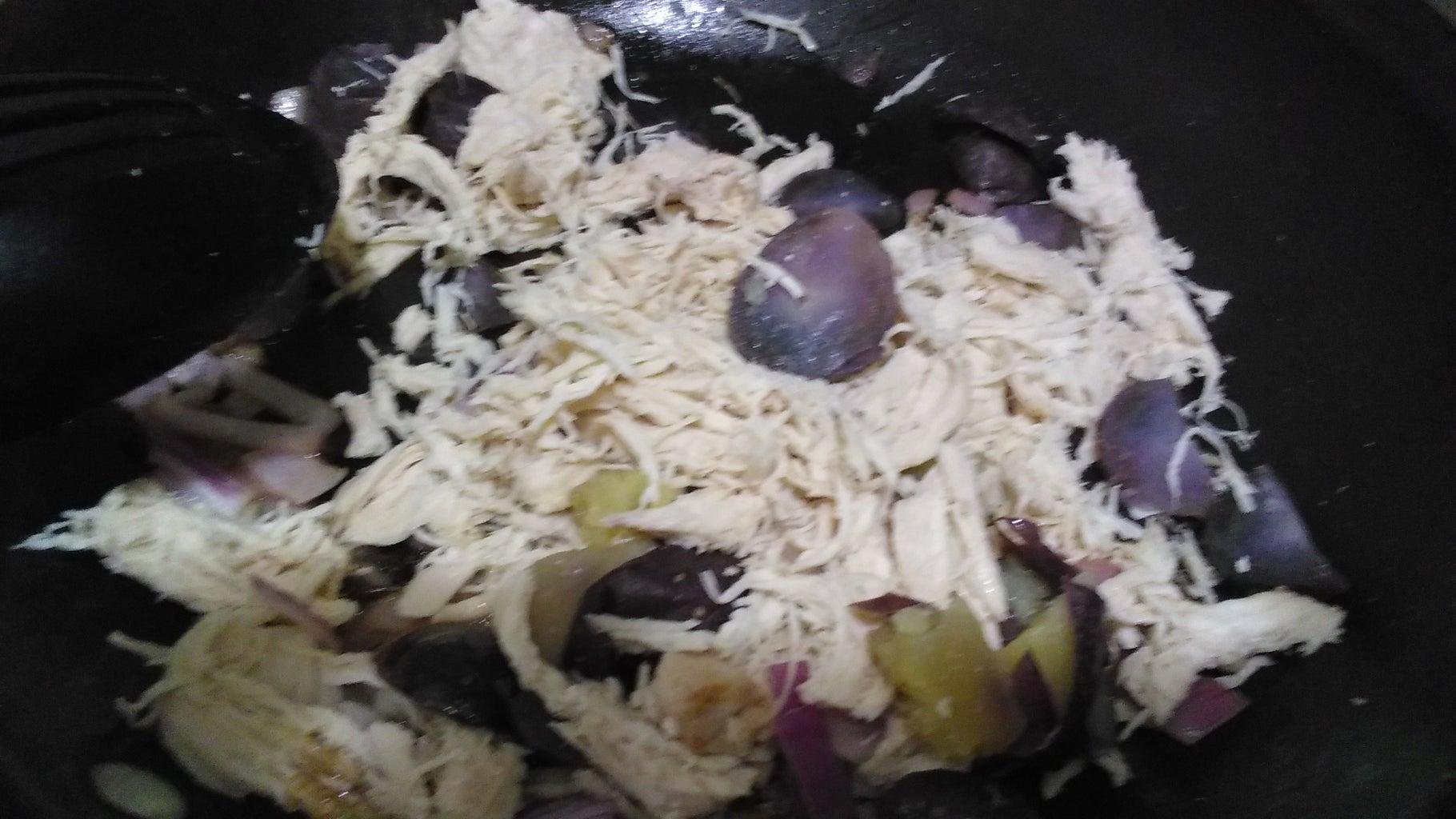 Prepare the Potatoes and Chicken