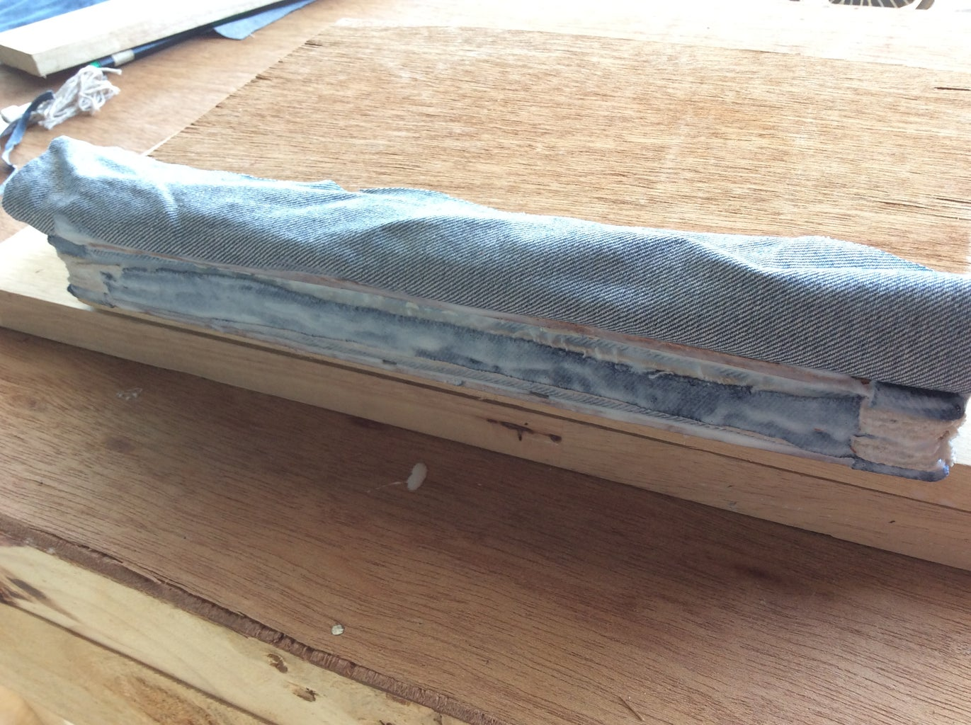 Gluing Down the Outer Spine