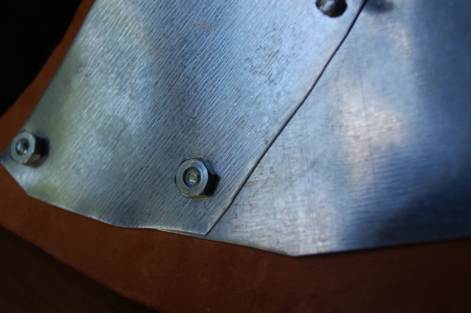 Attaching the Metal to the Leather